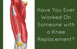 massage for knee replacements