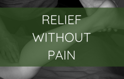 relief without pain